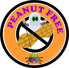 nut allergies posters labels nut free party for halloween best 25