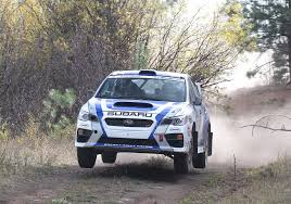 subaru sti rally car podium finish for subaru rally team canada at pacific forest rally