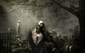 free zombie backgrounds wallpapersafari