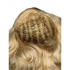 light brown hair piece wavy wefts hair piece half wig dark brown half length and 3 4 wigs