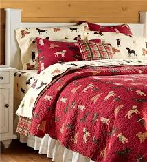 Plaid Bed Sets Quilted Labrador Plaid Bedding Set Bed Plow Hearth