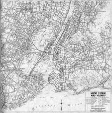 Road Map Of New York by Part1