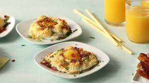 blue cheese bacon cloud eggs