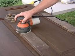 how to refinish a solid wood door how tos diy