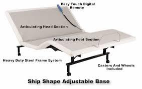 leggett and platt ship shape adjustable bed bases