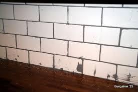 grouting kitchen backsplash subway tile backsplash installed