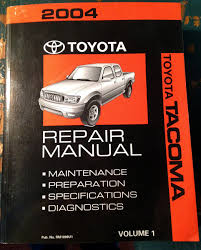 28 2004 toyota tacoma repair manual 93573 find used 2004