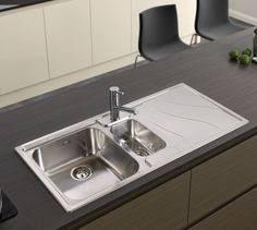 Wickes Kitchen Sinks Sale - wickes rok metallic 1 1 2 bowl kitchen sink black 99 kitchen