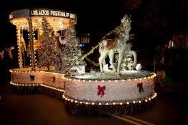 christmas light parade floats los altos festival of lights parade photo gallery
