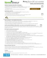 Air Force One Installation by Revealshield Sa Installation Instructions