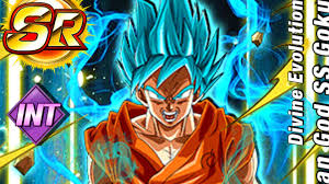 dragon ball dokkan battle free ssgss goku sr