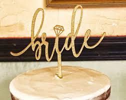 Bride Cake Bride Cake Topper Etsy