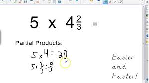 Subtracting Mixed Fractions Worksheets Lesson 7 5 Multiplying Mixed Numbers Youtube