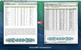 Converting Pdf To Excel Spreadsheet Pdf To Excel With Ocr For Mac Easily Convert Pdf To Excel With