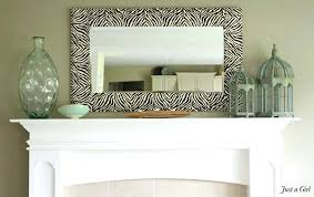 framed bathroom mirrors diy diy mirror frame ideas zebra mirror amazing mirrors diy bathroom