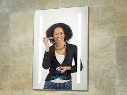 bathroom mirror radio illuminated bluetooth fm dab bathroom radio mirror music in