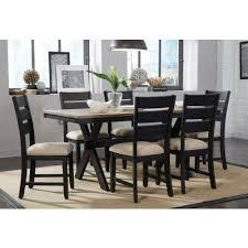 braydon 7 piece dining room set standard furniture furniture cart