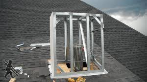 manufactured chimney chase installation greenville sc chim cheree