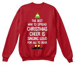 cheer sweater the best way to spread cheer