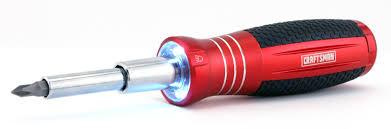 craftsman led screwdriver illuminates hard to reach jobs