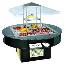 salad bar refrigerator salad display counter buffet display