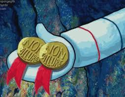 Medal Meme - image 164452 spongebob squarepants know your meme