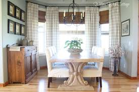 dining room coastal chic dining room with wooden table idea