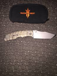 kingdom armory masada grailing and zieba custom kitchen knife