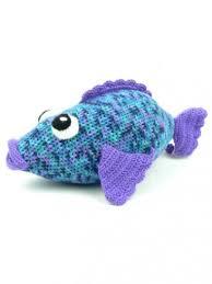 caron big rainbow fish crochet pattern yarnspirations