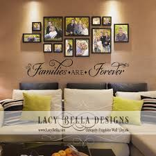 families are forever vinyl lettering home decor wall stickers