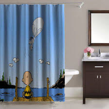 Peanuts Shower Curtain Baby Snoopy Shower Ebay