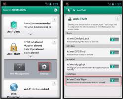 android os using data how to remotely delete data from the smartphone using kaspersky