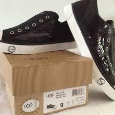 ugg tennis shoes on sale 47 ugg shoes ugg brand black sequin glitter tennis