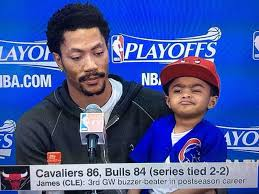 Derrick Rose Jersey Meme - derrick rose wore a dope t shirt featuring his kid as a meme gq