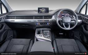 audi suv q7 interior new audi q7 arrives in south africa fourtitude com