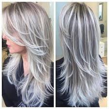 blonde hair with silver highlights blonde hair silver highlights hairs picture gallery