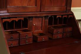 Antique Secretary Desk With Bookcase by Antique Style Secretary Desk Colonial Secretary Desk