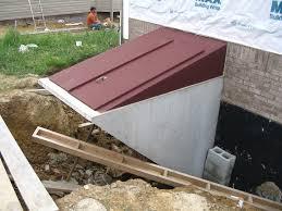How To Dig Out A Basement by Precast Basement Entrance U0026 Egress Hampton Concrete Products
