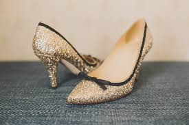 wedding shoes gold color wedding shoes in every color of the rainbow inside weddings