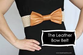 bow belt the leather bow belt i heart nap time