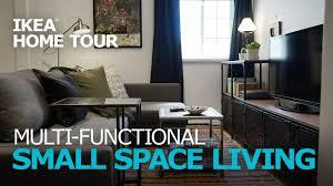 small apartment ideas ikea home tour episode 308 youtube