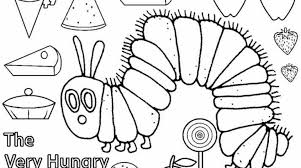 100 ideas hungry caterpillar coloring pages printables