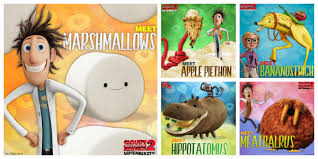 cloudy chance meatballs 2 foodimals google