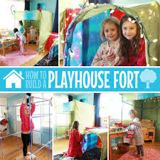how to build a playhouse fort fort magic