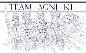 brave frontier team agni ki lines yoshi darkice deviantart