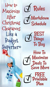 christmas clearance after christmas clearance store markdown schedule best things to