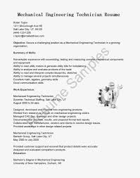Sample It Resume by Sample Resume For Freshers In Mechanical Engineering Templates