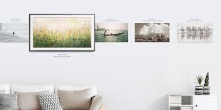 Wohnzimmerm El Von W Tmann Der Samsung Art Store Mit Auf The Frame Tv Bringen Sie Weltklasse
