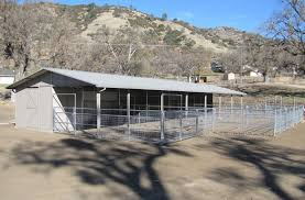 Shed Row Barns For Sale Ring O Steel California Horse Barns Shed Row Horse Barn