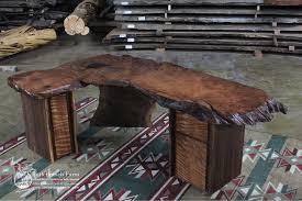 Rustic Office Desk Rustic Executive Desk Office Desk Littlebranch Farm